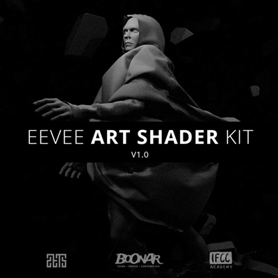 Eevee Art Shader Kit