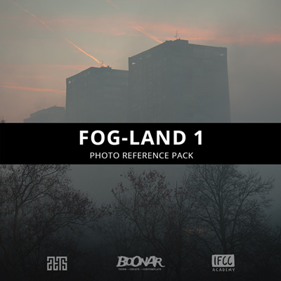 Fog-Land Photo Reference Pack